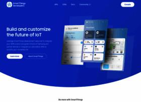 developer.smartthings.com