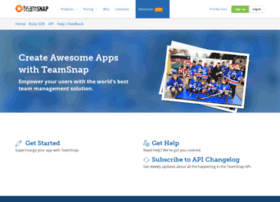 developer.teamsnap.com