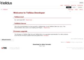 developer.telldus.com