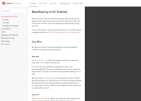 developer.todoist.com