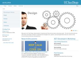 developer.ucsd.edu