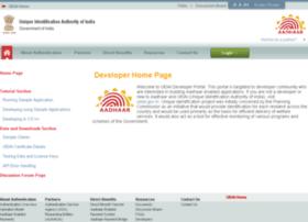 developer.uidai.gov.in