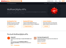 developer.wolframalpha.com