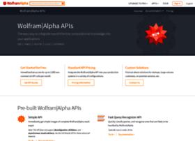 developer.wolframalpha.com
