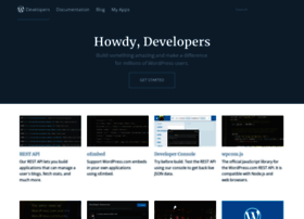 developer.wordpress.com
