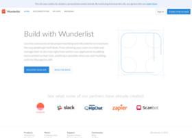 developer.wunderlist.com