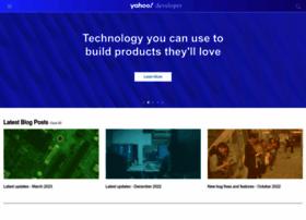 developer.yahoo.com
