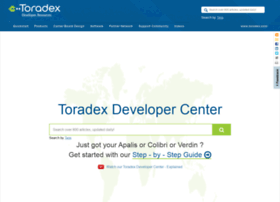 developer1.toradex.com