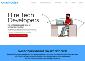 developeronrent.com