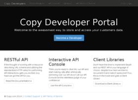 developers.copy.com