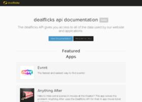 developers.dealflicks.com