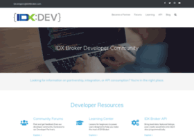 developers.idxbroker.com
