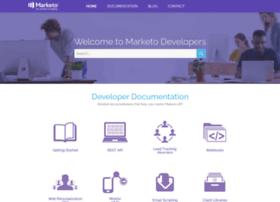 developers.marketo.com