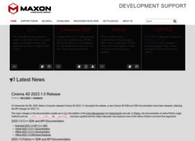 developers.maxon.net