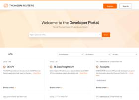 developers.thomsonreuters.com