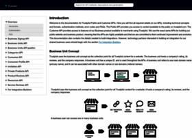 developers.trustpilot.com