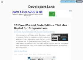 developerslane.tumblr.com