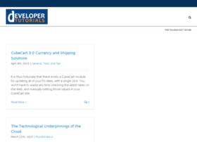 developertutorials.com