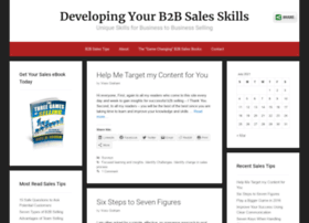 developingb2bsales.com
