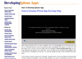 developingiphoneapps.com