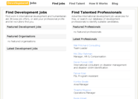 development-jobs.org