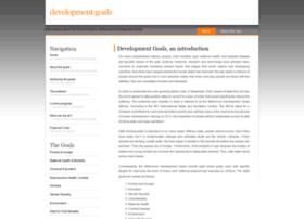 developmentgoals.com