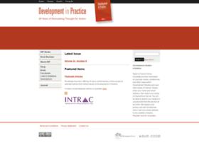 developmentinpractice.org