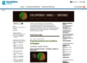 developpementdurable.revues.org