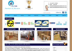 devindiapackersandmovers.com