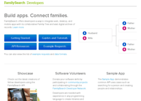 devnet.familysearch.org