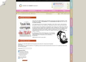 devoir-de-francais.com