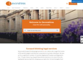 devonshires.co.uk