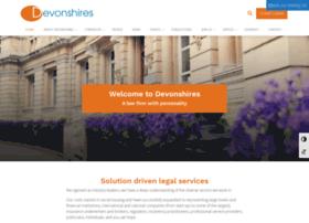 devonshires.com