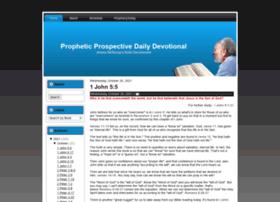 devotional.prophecytoday.com