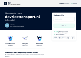devriestransport.nl