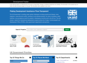 devtracker.dfid.gov.uk