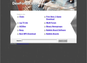 dewforum.info
