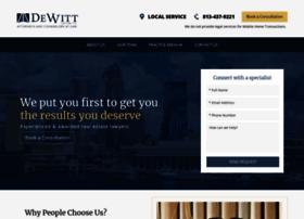 dewitt-law.com