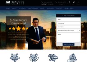 dewittlaw.com