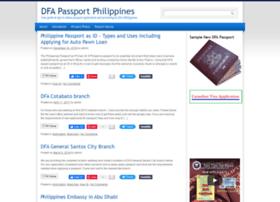 dfapassportphilippines.com