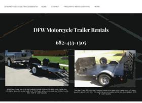 dfwmotorcycletrailerrentals.com