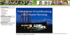 dgihusetherning.holdbooking.dk