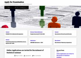 dgr.applyforexam.com