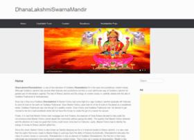 dhanalakshmiswarnamandir.com
