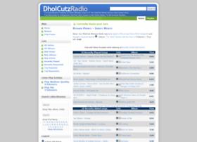 dholcutzradio.com