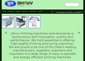 dhruvprintingmachines.com