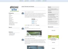 dhtmlsite.com