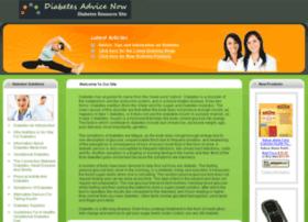 diabetesadvicenow.com