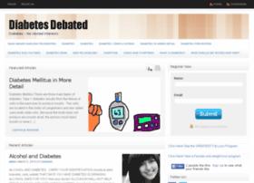 diabetesdebated.com