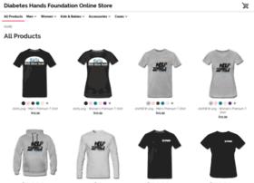 diabeteshandsfoundation.spreadshirt.com
